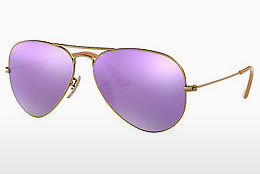 Saulesbrilles Ray-Ban AVIATOR LARGE METAL (RB3025 167/1R) - Brūna