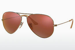 Saulesbrilles Ray-Ban AVIATOR LARGE METAL (RB3025 167/2K) - Brūna