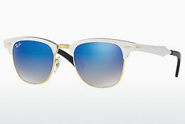 Saulesbrilles Ray-Ban CLUBMASTER ALUMINUM (RB3507 137/7Q) - Balta