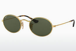 Saulesbrilles Ray-Ban Oval (RB3547N 001) - Zelta