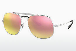 Saulesbrilles Ray-Ban The General (RB3561 003/7O) - Sudraba