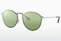 Saulesbrilles Ray-Ban Blaze Round (RB3574N 003/30) - Sudraba