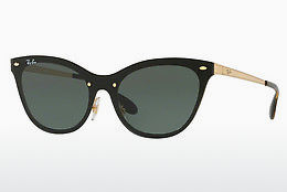 Saulesbrilles Ray-Ban Blaze Cat Eye (RB3580N 043/71) - Zelta