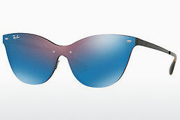 Saulesbrilles Ray-Ban Blaze Cat Eye (RB3580N 153/7V) - Purpursarkana