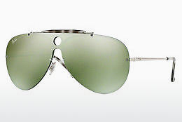 Saulesbrilles Ray-Ban Blaze Shooter (RB3581N 003/30) - Sudraba