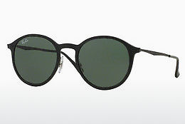 Saulesbrilles Ray-Ban Round Light Ray (RB4224 601S71) - Melna