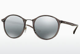 Saulesbrilles Ray-Ban Round Ii Light Ray (RB4242 620088) - Pelēka