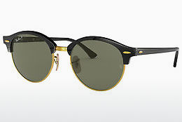 Saulesbrilles Ray-Ban CLUBROUND (RB4246 901/58) - Melna