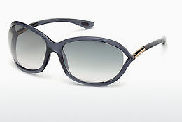 Saulesbrilles Tom Ford Jennifer (FT0008 0B5) - Pelēka