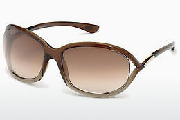 Saulesbrilles Tom Ford Jennifer (FT0008 38F) - Bronzas