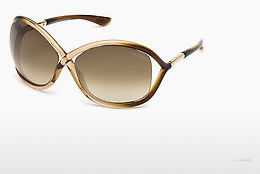 Saulesbrilles Tom Ford Whitney (FT0009 74F) - Rozā, Rosa