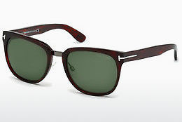 Saulesbrilles Tom Ford Rock (FT0290 52N) - Brūna, Dark, Havana
