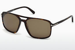 Saulesbrilles Tom Ford Terry (FT0332 56P) - Havannas brūna