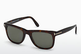 Saulesbrilles Tom Ford Leo (FT0336 56R) - Havannas brūna