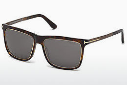 Saulesbrilles Tom Ford Karlie (FT0392 52J) - Brūna, Dark, Havana