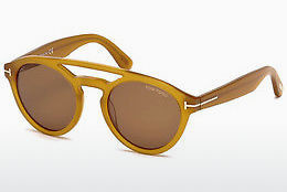 Saulesbrilles Tom Ford Clint (FT0537 41E) - Dzeltena