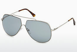 Saulesbrilles Tom Ford FT0586 16A - Sudraba, Shiny, Grey