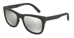 Dolce & Gabbana DG2145 12676G LIGHT GREY MIRROR SILVERGREY RUBBER