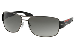 Prada Sport PS 53NS 5AV3M1 GRAY GRADIENTGUNMETAL