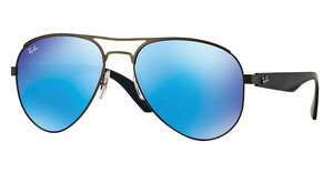 Ray-Ban RB3523 029/55 LIGHT GREEN MIRROR BLUEMATTE GUNMETAL