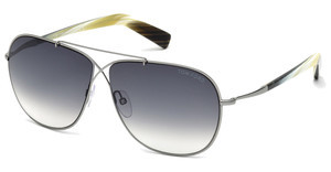Tom Ford FT0393 15B grau verlaufendruthenium hell matt