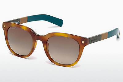 Saulesbrilles Dsquared DQ0208 53K - Havannas brūna, Yellow, Blond, Brown