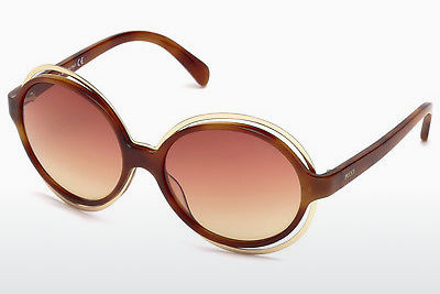 Saulesbrilles Emilio Pucci EP0055 53Z - Havannas brūna, Yellow, Blond, Brown