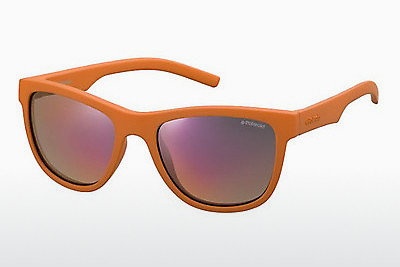 Saulesbrilles Polaroid Kids PLD 8018/S H0A/OZ - Orange
