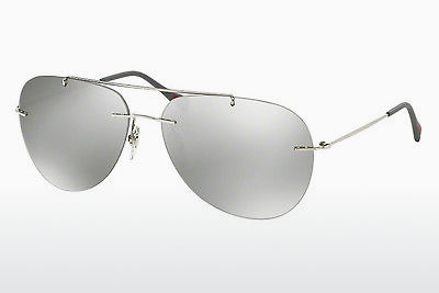 Saulesbrilles Prada Sport RED FEATHER (PS 50PS 1BC2B0) - Pelēka
