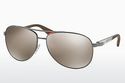 Saulesbrilles Prada Sport NETEX COLLECTION (PS 51OS 5AV1C0) - Pelēka