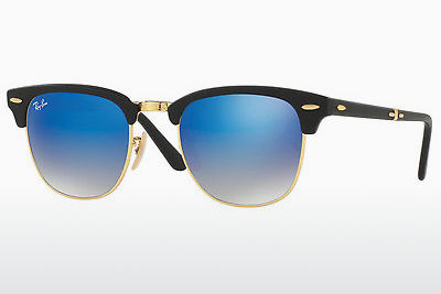 Saulesbrilles Ray-Ban CLUBMASTER FOLDING (RB2176 901S7Q) - Melna