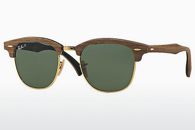 Saulesbrilles Ray-Ban CLUBMASTER (M) (RB3016M 118158) - Melna