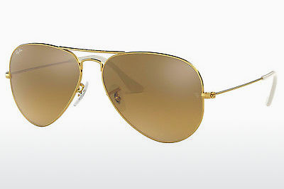 Saulesbrilles Ray-Ban AVIATOR LARGE METAL (RB3025 001/3K) - Zelta