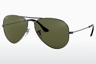 Saulesbrilles Ray-Ban AVIATOR LARGE METAL (RB3025 004/58) - Pelēka