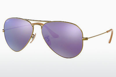 Saulesbrilles Ray-Ban AVIATOR LARGE METAL (RB3025 167/1M) - Brūna