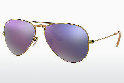 Saulesbrilles Ray-Ban AVIATOR LARGE METAL (RB3025 167/4K) - Brūna