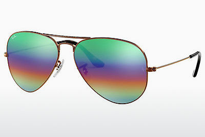 Saulesbrilles Ray-Ban AVIATOR LARGE METAL (RB3025 9018C3) - Brūna