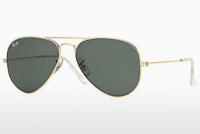 Saulesbrilles Ray-Ban AVIATOR LARGE METAL (RB3025 W3234) - Zelta