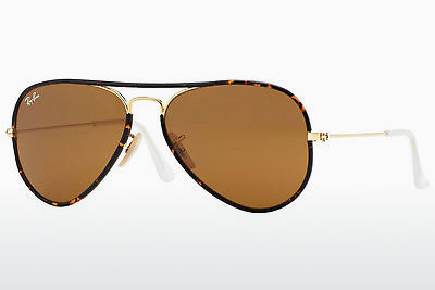 Saulesbrilles Ray-Ban AVIATOR FULL COLOR (RB3025JM 001) - Zelta