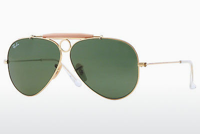Saulesbrilles Ray-Ban SHOOTER (RB3138 001) - Zelta