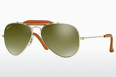 Saulesbrilles Ray-Ban AVIATOR CRAFT (RB3422Q 001/M9) - Zelta