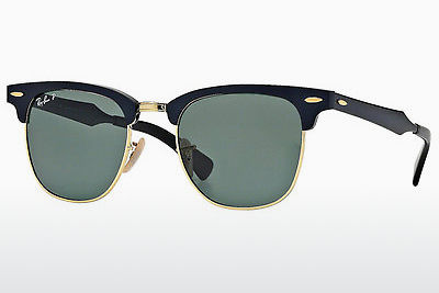 Saulesbrilles Ray-Ban CLUBMASTER ALUMINUM (RB3507 136/N5) - Melna