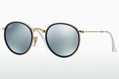 Saulesbrilles Ray-Ban ROUND (RB3517 001/30) - Zelta