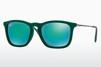 Saulesbrilles Ray-Ban CHRIS (RB4187 60823R) - Zaļa