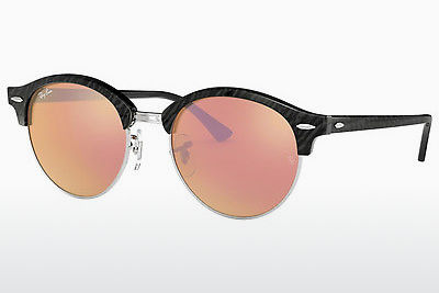 Saulesbrilles Ray-Ban Clubround (RB4246 1197Z2) - Melna