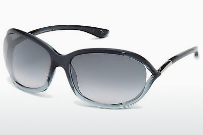 Saulesbrilles Tom Ford Jennifer (FT0008 20B) - Pelēka