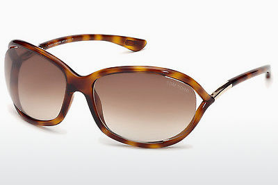 Saulesbrilles Tom Ford Jennifer (FT0008 52F) - Brūna, Dark, Havana