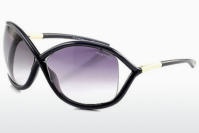 Saulesbrilles Tom Ford Whitney (FT0009 0B5) - Pelēka