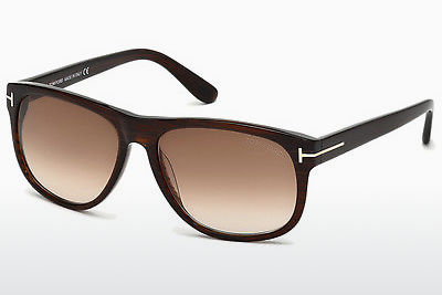 Saulesbrilles Tom Ford Olivier (FT0236 50P) - Brūna, Dark