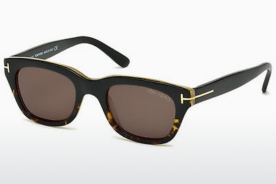 Saulesbrilles Tom Ford Snowdon (FT0237 05J) - Melna